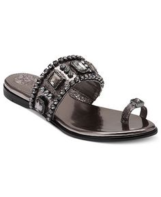 62da7e84051 Vince Camuto Analisa Toe Thong Sandals Shoes - Sandals   Flip Flops - Macy s