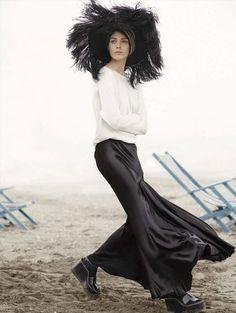 Kati Nescher для Vogue Germany 5