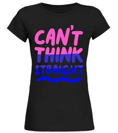 """# Can't Think Straight Bisexual T-shirt LGBT Pride Flag Tee .  Special Offer, not available in shops      Comes in a variety of styles and colours      Buy yours now before it is too late!      Secured payment via Visa / Mastercard / Amex / PayPal      How to place an order            Choose the model from the drop-down menu      Click on """"Buy it now""""      Choose the size and the quantity      Add your delivery address and bank details      And that's it!      Tags: This cute & funny LGBTQ…"""