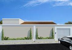 Resultado de imagem para muros e fachadas casa terrea