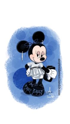 Minnie Mouse - Posing Artwork