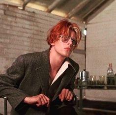 David Bowie - The Man Who Fell To Earth: This is an interior shot of the shack in which Newton goes into seclusion after exposing his true alien self to Mary Lou. #DavidCopperfield