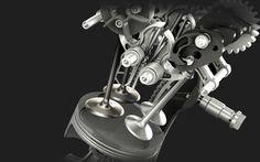 Desmo valve actuation.