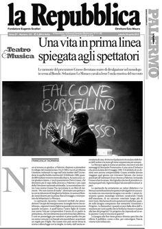 """28 aprile 2012 - La Repubblica - Francesca Taormina su """"Per Non Morire di Mafia"""""""