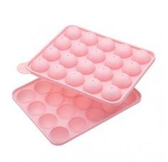 Molde silicona para hornear cake pops  Solo este fin de semana, 25% de descuento. El precio baja de 12,80 a 9,60 euros. Hasta fin de existencias.  Oferta válida hasta el 7 de octubre de 2013.