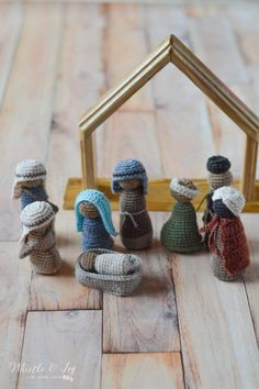 Crochet Nativity Set CAL 2017