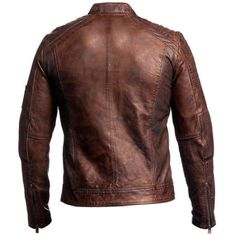 This Cafe Racer Brown Leather Jacket provides you the utmost style with a trendy look. this jacket is perfect for casual gatherings. Cafe Racer Leather Jacket is made of the high quality durable buffalo leather material. Cafe Racer Leather Jacket, Cafe Racer Jacket, Leather Jacket Outfits, Men's Leather Jacket, Leather Men, Real Leather, Jacket Men, Brown Leather, Motorcycle Leather