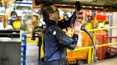 FOX NEWS: Exoskeletons giving Ford factory workers super strength
