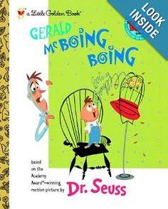 Gerald McBoing Boing (Little Golden Book): Dr. Seuss: