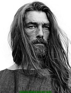 Patrick Petitjean Delivers Long Hairstyles for Elle Man Mexico June 2015 Cover Shoot He is so elemental, way beyond sexy. Photographer Joe Lai, styled by Mariaelena Morelli. Photo Portrait, Portrait Photography, Cover Shoot, Hair And Beard Styles, Long Hair Styles, Img Models, Yoga For Men, Interesting Faces, Male Face