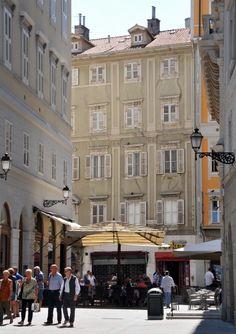 Lovely stroll in Trieste, Italy