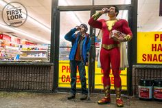 <em>Shazam!</em> reveals Zachary Levi's costume in first official photo