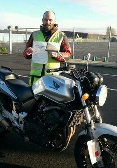Adam - well done  #motorcycletrainingmanchester #CBTManchester 01619733450