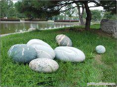 River Rocks Stone Pillows