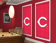 Cincinnati Reds MLB® Roller Shade. Every MLB® Team Available!