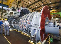 "60 Hertz Version of Siemens' ""World Record Holder"" Gas Turbine Energy Saving Tips, Save Energy, Mechanical Design, Mechanical Engineering, 3d Design Software, Aviation Technology, 3d Printing Industry, Gas Turbine, Oil Refinery"
