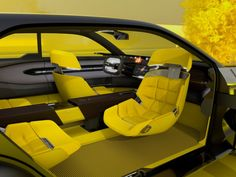Renault's concept SUV can expand to become bigger and more spacious, like a travel suitcase! Console Centrale, Volkswagen, Renault Nissan, Fighting Robots, Power Bike, Smartphone Holder, Cars Uk, Autos, Cars