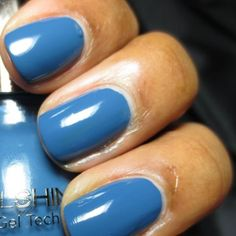 Fall 2013: Denim Days - Denim will always rank as a fall fashion must-have, and for the past couple of seasons, it's been a hot nail trend too. We're loving Sinful Colors SinfulShine in Bottoms Up ($3; available at Walgreens), a faded cobalt blue with self-curing gel technology. Translation: You get a super-glossy finish without having to stick your nails under a special lamp.