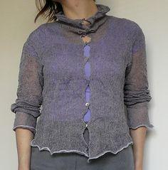 88:: SSS jacket::grey by o l g a j a z z y, via Flickr