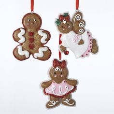 12 Christmas Ornaments by Gordon Companies, Inc. $130.50. This product may be prohibited inbound shipment to your destination.. Brand Name: Gordon Companies, Inc Mfg#: 30669286. Picture may wrongfully represent. Please read title and description thoroughly.. Shipping Weight: 1.00 lbs. Please refer to SKU# ATR25760790 when you inquire.. 12 Christmas ornaments/Gingerbread Girl, Angel and Boy/glittery/hangers included/4.25''H/made of resin/you get 4 of each style