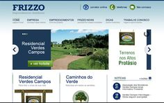 Novo website da AMR Frizzo.