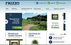 Novo website da AMR Frizzo.