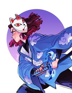 Kimetsu no Yaiba - Demon Slayer Nezuko , Katharine Zheng Manga Anime, Anime Demon, Anime Art, Blue Exorcist, Chibi, Ichigo Y Rukia, Character Art, Character Design, Manga Dragon