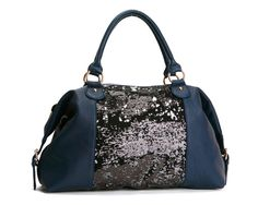 $108.00-Deux Lux Felix Satchel... I absolutely adore sequins this year!