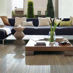 Cancos Tile and Stone - Luxe Interiors + Design Elegant Living Room, Beautiful Living Rooms, Commercial Interior Design, Commercial Interiors, Interior Design Inspiration, Home Decor Inspiration, Luxury Decor, Dream Decor, Luxury Living