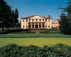 Scheda opera :: Palladio Museum Temple Architecture, Classical Architecture, Padua Italy, Andrea Palladio, Villas In Italy, Italian Villa, Country Estate, Mansions, House Styles