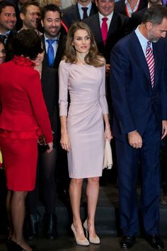 Queen Letizia of Spain Cocktail Dress
