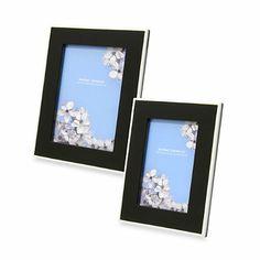 Swing Design™ Elle Lacquer Frame in Black - BedBathandBeyond.com