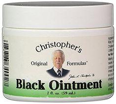 Dr. Christopher's Original Formulas - Schwarze Salbe - 2 Unze.: Amazon.de: Beauty