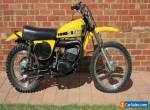 1974 YAMAHA MX250A MOTOCROSS MOTORCYCLE - EXCELLENT CONDITION