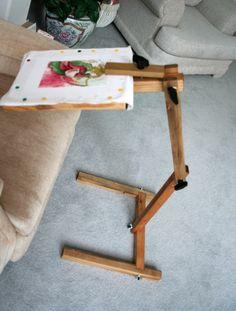 Handi-Stitch-Holder versital cross stitch and quilting stand