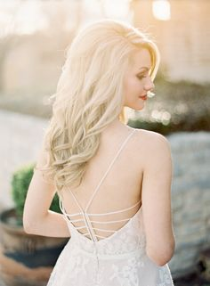 View entire slideshow: Bridal Long Hair Ideas on http://www.stylemepretty.com/collection/1555/