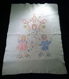 Vintage Hansel and Gretel Handmade Quilted by RubyVixenVintage, $30.00