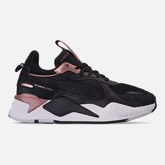 buy cheap 1444c 577e1 Right view of Women s Puma RS-X Trophy Casual Shoes in Puma Black Rose