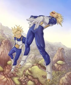 Vegeta and Trunks