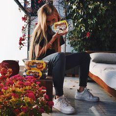 Muchas gracias a @donuts_es por cmpartir conmig este mmento redond  Comparteee ahora el tuyo con el hashtag #MomentoRedondo  #Merendolaquemeespera thanks!! #Donuts