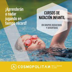 Para que los más peques de la casa aprendan a #nadar de forma divertida, hemos preparado unas clases muy especiales