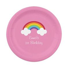 Rainbow Personalized Paper Plates  sc 1 st  Pinterest & Winter Wonderland Penguin Paper Plates | Winter wonderland Paper ...