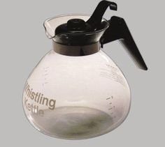 OneAll Stovetop Whistling Kettle (Pack of Borosilicate glass body is heat tolerant and can be used on gas and electric stove tops. Electric Stove, Gas And Electric, Tea Pots, Kitchen Appliances, Canning, Glass, Cooking Ware, Tea Kettles, Juice