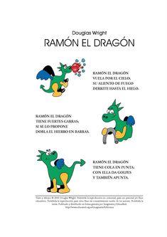 Para mejorar la pronunciación del lenguaje he encontrado estos fabulosos vídeos,entretenidosy divertidos para los peques.               ... Dragon Medieval, Math For Kids, Knight, Dragons, Deco, Texts, Books, World, Dragon Tales