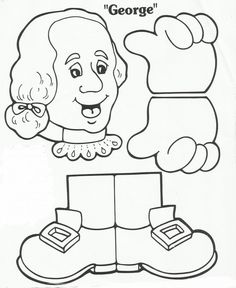 Squish Preschool Ideas: Presidents Washington & Lincoln, songs, books, information, crafts and food