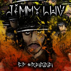 Capa do Ep #RAGGA do Jimmy Luv  Tipografias criadas especialmente pro EP