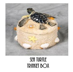 Sea Turtle Trinket Box  Only $8.99