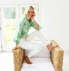 Tenley Blouse – Ginger Howard Selections White Button Down, The Selection, White Jeans, Blouses, Model, Cotton, How To Wear, Shopping, Fashion