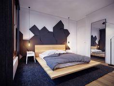 decoration-chambre-moderne-tapis-fonce
