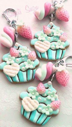 Cupcake Anhänger: